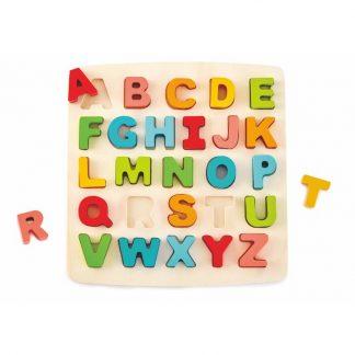 Grossbuchstaben Puzzle