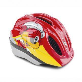 Fahrradhelm XS rot