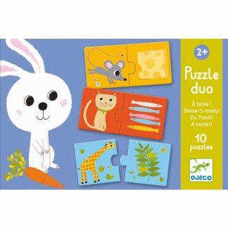 Puzzle Duo Zu Tisch