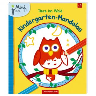 Kindergartenmandalas - Tiere im Wald