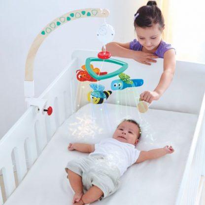 Baby-Mobile mit Spieluhr