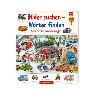 Bilder suchen - Wörter finden: Such mit bei den Fahrzeugen