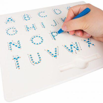 Magnetische Schreibtafel Grossbuchstaben
