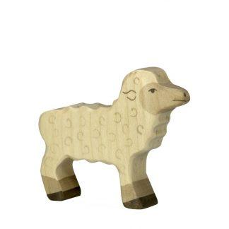 Lamm stehend von Holztiger