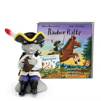 Hörspielfigur für die Toniebox Räuber Ratte und Superwurm