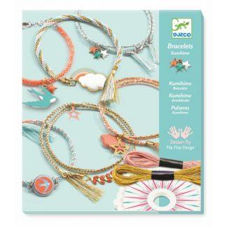 Kreativset Armbänder flechten inkl. Felchtscheibe und Zubehör