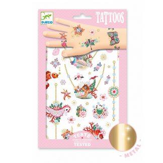 Tattoos im Meerjungfrauen-Design