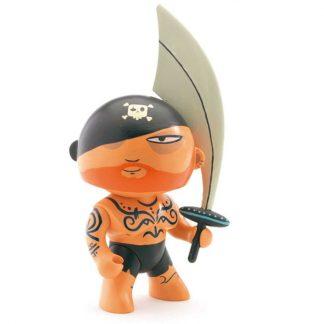 Spielfigur Pirat mit Säbel