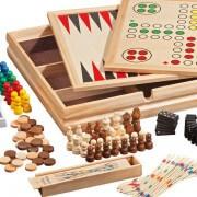 Holzspielesammlung