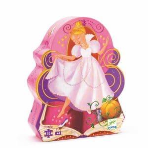 Silhouettepuzzle Cinderella 36 Teile