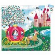 Puzzle Prinzessin in der Kutsche