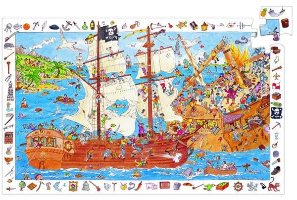 100-teiliges Puzzle inklusive Poster