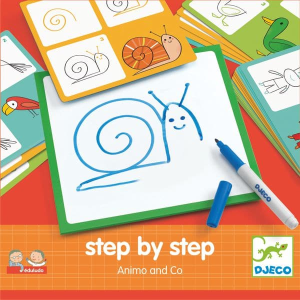 Schritt für Schritt Tiere zeichnen