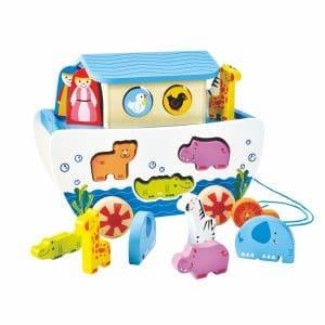 mit 2 Spielfiguren und 7 Tierpaaren