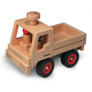 Lastwagen aus massiven Buchenholz