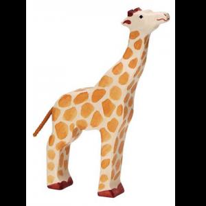 Giraffe aufrecht stehend