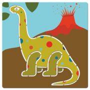 Schablonen Dinosaurier