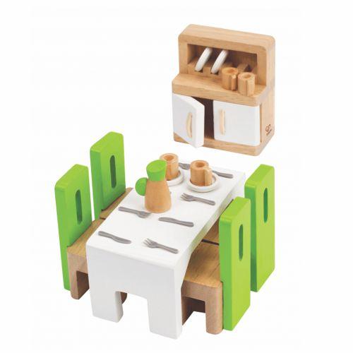 23-teiliges Zimmerset für das Puppenhaus