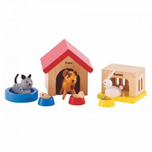 12-teiliges Set das Puppenhaus
