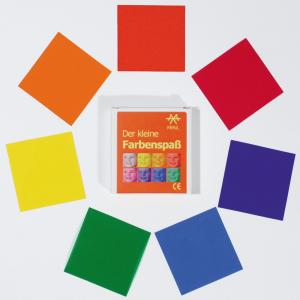 mit 7 Farbfolien expermentieren