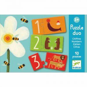 Puzzle Duo Zahlen