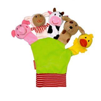 Mein liebster Fingerpuppen-Handschuh: Alle meine Fingerlein