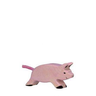 Ferkel rosa laufend