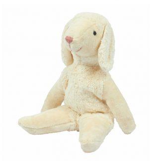 weißes Schaf aus Biobaumwolle