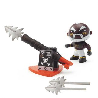 Pirat mit Harpune