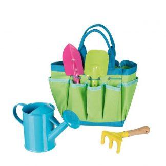 Gartenwerkzeug in Tasche