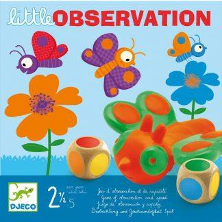 Spiel mit Farbwürfel und Schmetterlingen ab 2,5 Jahren