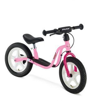 rosa Puky Laufrad mit Luftreifen und Bremsen