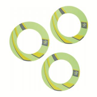 Set bestehend aus 3 Frisbee-Ringen