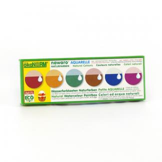 Wasserfarben Farbkasten Nawaro 6er