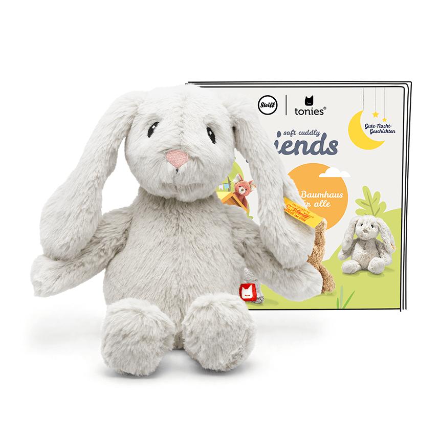 Tonies Soft Cuddly Friends mit Hörspiel Hoppie Hase Steiff