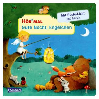 Hör mal Gute Nacht Engelchen Soundbuch mit Pustelicht