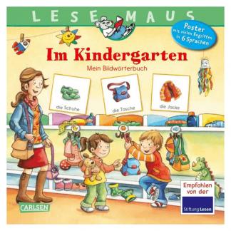 Im Kindergarten Lesemaus Bildwörterbuch